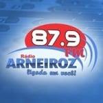 Logo da emissora Rádio Arneiroz 87.9 FM