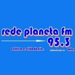 Logo da emissora Rádio Planeta 95.3 FM