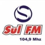 Logo da emissora Rádio Sul 104.9 FM