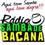 Logo da emissora Rádio Samba de Bacana