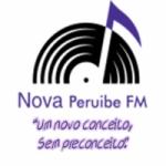 Logo da emissora Rádio Nova Peruibe FM