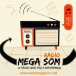 Logo da emissora Rádio Mega Som