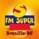Logo da emissora Rádio FM Super Brasília