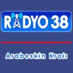 Logo da emissora Arabeskin Krali Radyo 38 99.8 FM