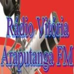Logo da emissora Rádio Vitória Araputanga