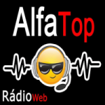 Logo da emissora Rádio Alfa Top