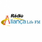 Logo da emissora Rádio Aliança Life