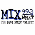 Logo da emissora WNXT 99.3 FM