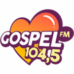 Logo da emissora Rádio Gospel 104.5 FM