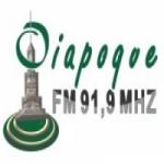 Logo da emissora Rádio Oiapoque 91.9 FM