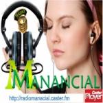 Logo da emissora Rádio Manancial Music