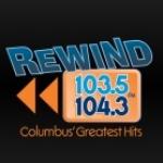 Logo da emissora WODB 104.3 FM