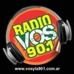 Logo da emissora Radio Vos 90.1 FM