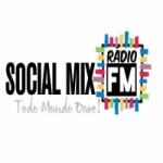 Logo da emissora Rádio Social Mix FM