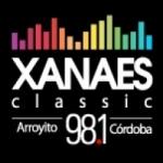 Logo da emissora Radio Xanaes 98.1 FM