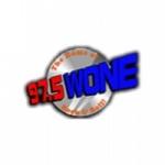 Logo da emissora WONE 97.5 FM