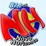 Logo da emissora Rádio Novo Horizonte 87.5 FM