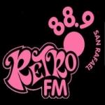 Logo da emissora Radio Retro 88.9 FM