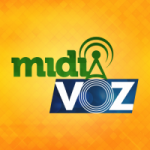 Logo da emissora Rádio Mídia Voz