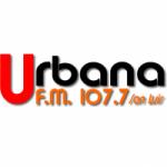 Logo da emissora Radio Urbana 107.7 FM