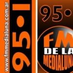 Logo da emissora Radio Media Luna 95.1 FM