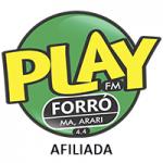 Logo da emissora Play Forró 4.4