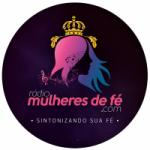 Logo da emissora Rádio Mulheres de Fé