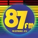 Logo da emissora Rádio Extremoz 87.9 FM