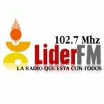 Logo da emissora Radio Lider 102.7 FM