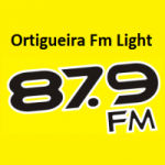 Logo da emissora Rádio Ortigueira 87.9 FM