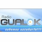 Logo da emissora Radio Gualok 100.1 FM
