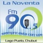 Logo da emissora Radio La 90 90.5 FM