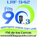 Logo da emissora Radio FM de Los Cerros 90.3 FM