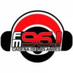 Logo da emissora Radio Cadena de Los Andes 96.1 FM