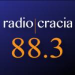 Logo da emissora Radiocracia 88.3 FM