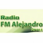 Logo da emissora Radio Alejandro 94.5 FM