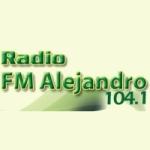 Logo da emissora Radio Alejandro 104.1 FM