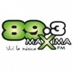 Logo da emissora Radio Maxima 89.3 FM