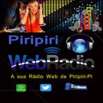Logo da emissora Piripiri Rádio Web