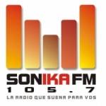 Logo da emissora Radio Sonika 101.3 FM