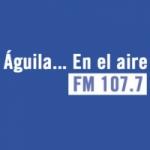 Logo da emissora Radio Águila 107.7 FM