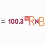 Logo da emissora WRNB 107.9 FM