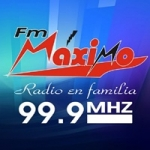 Logo da emissora Radio Máximo 99.9 FM