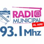 Logo da emissora Radio Municipal 93.1 FM