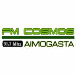 Logo da emissora Radio Cosmos 91.7 FM
