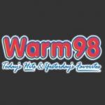 Logo da emissora WRRM Warm 98 FM