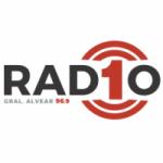 Logo da emissora Radio 1 96.9 FM