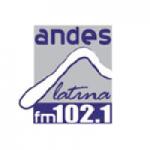 Logo da emissora Radio Andes Latina 102.1 FM