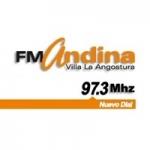Logo da emissora Radio Andina 97.3 FM
