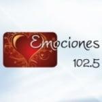 Logo da emissora Radio Emociones 102.5 FM